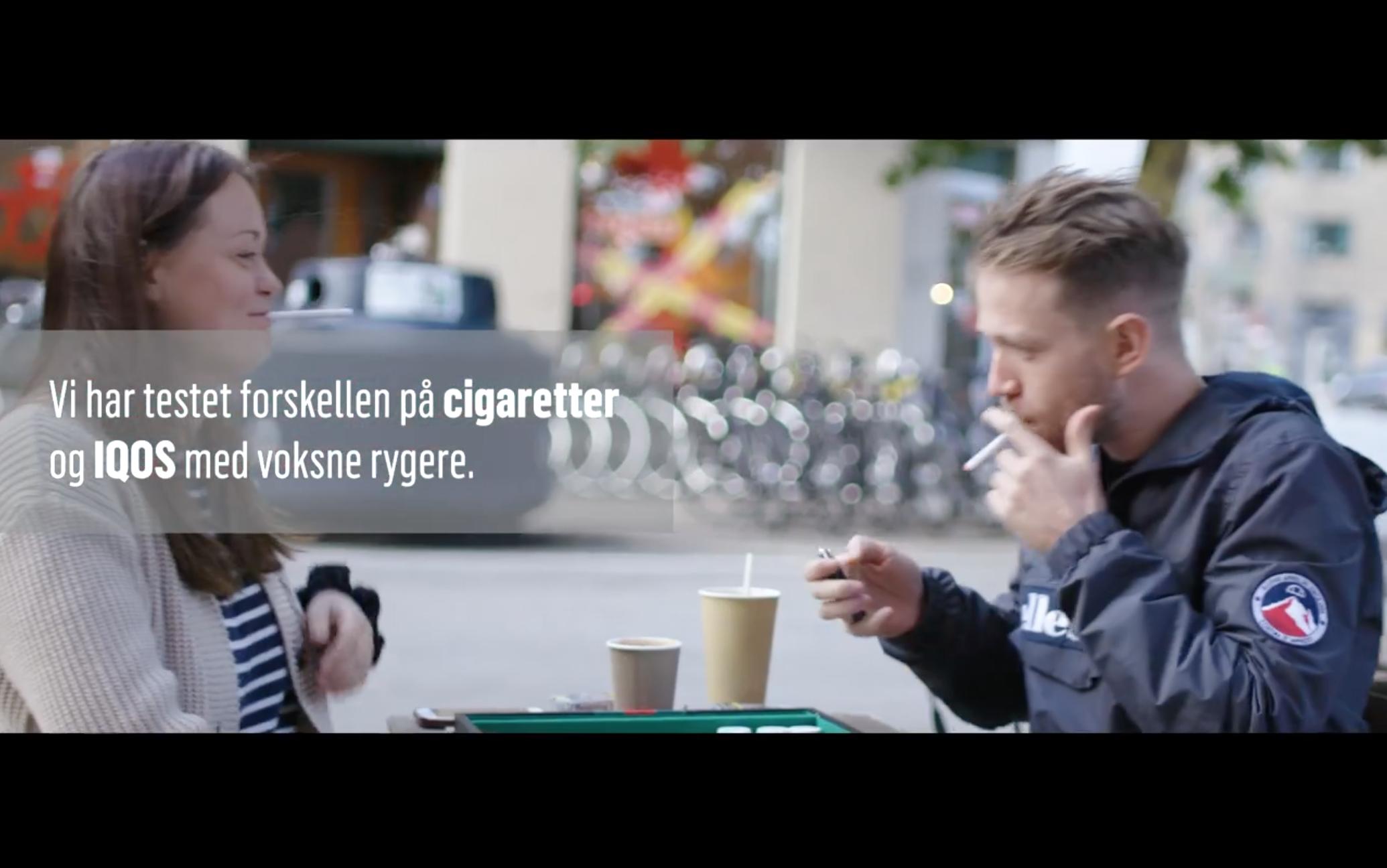 hør fra to iqos brugere hvordan det er at blive røgfri